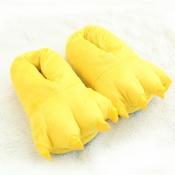 Lovely Sweet Cartoon Yellow Platform Shoes