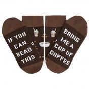 lovely Chic Letter Coffee Socks