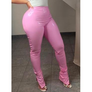 Lovely Street Basic Skinny Pink Pants