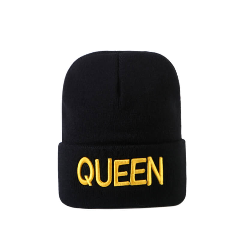 Lovely Casual Letter Black Hat