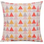 Lovely Geometric Print Patchwork Multicolor Decora