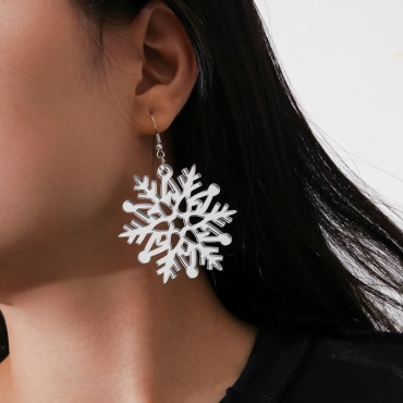 Lovely Stylish Hollow-out White Earring