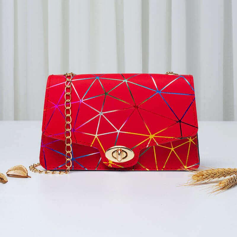 LW Geometric Basic Crossbody Bags