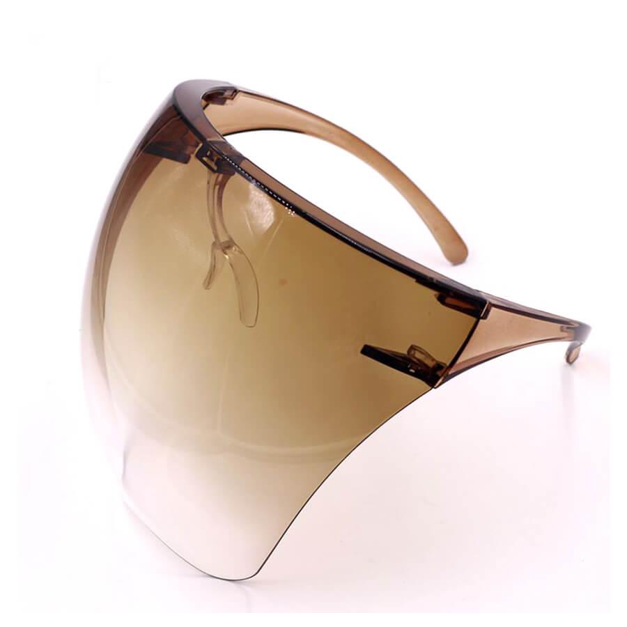 LW Chic Gradient Brown Sunglasses