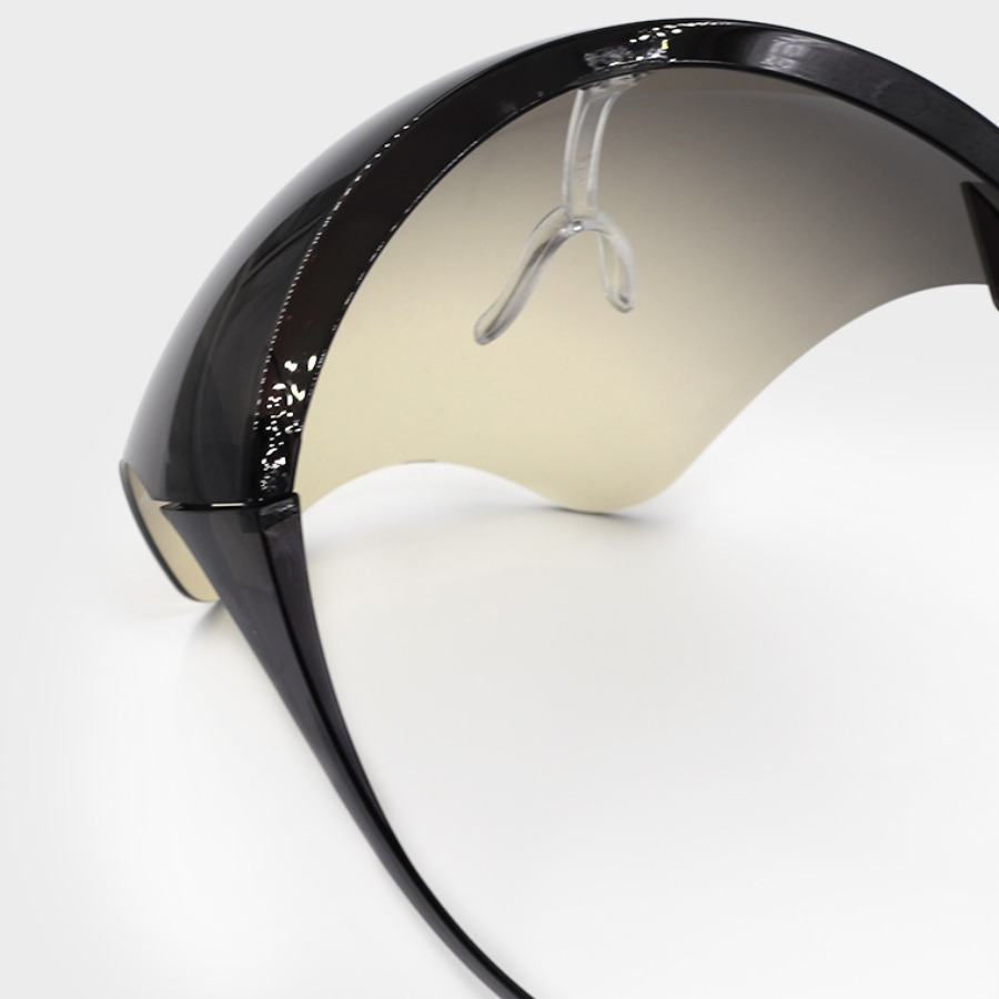 Lovely Chic Gradient Pitch-black Sunglasses