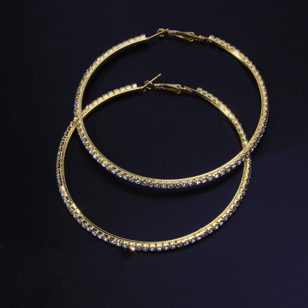 Lovely Street Geometric Gold Earring