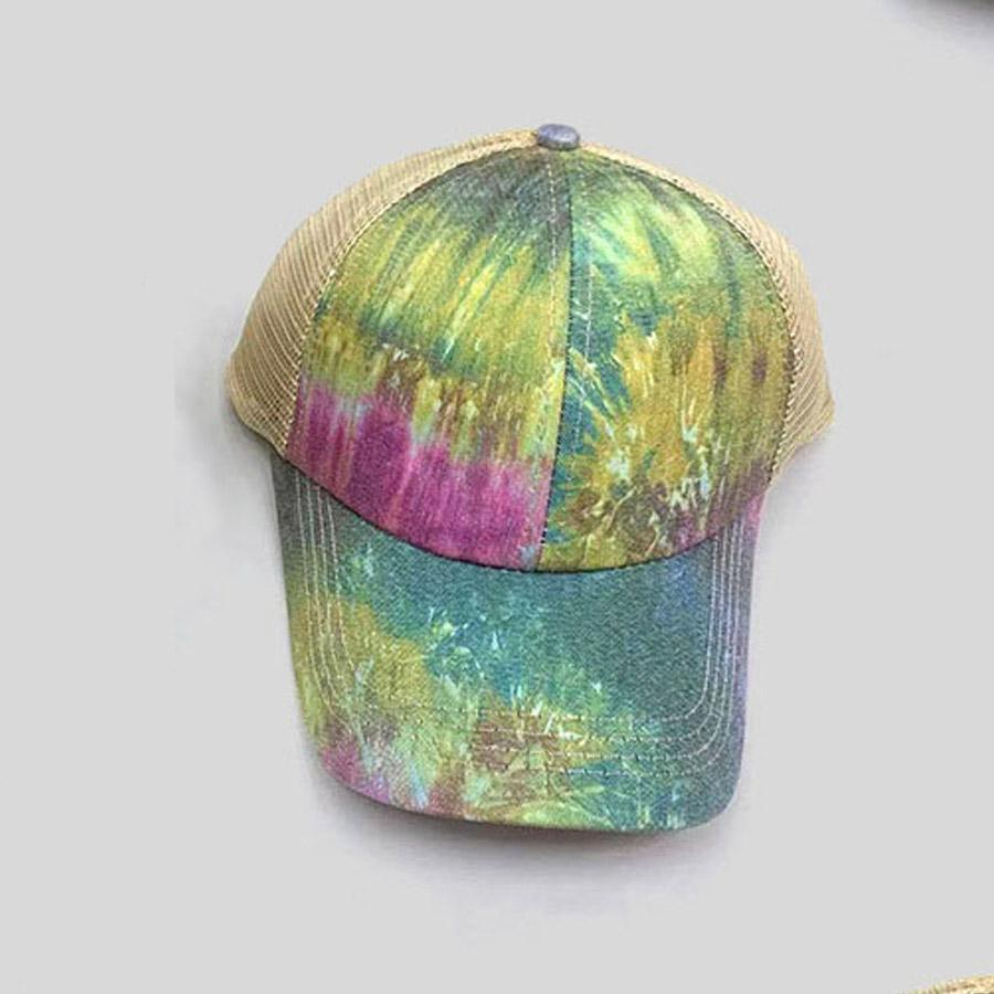 LW Casual Tie-dye Green Hat
