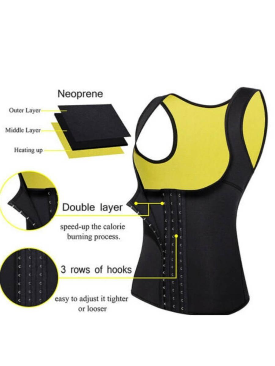 LW Sportswear Skinny Black Waist Trainer
