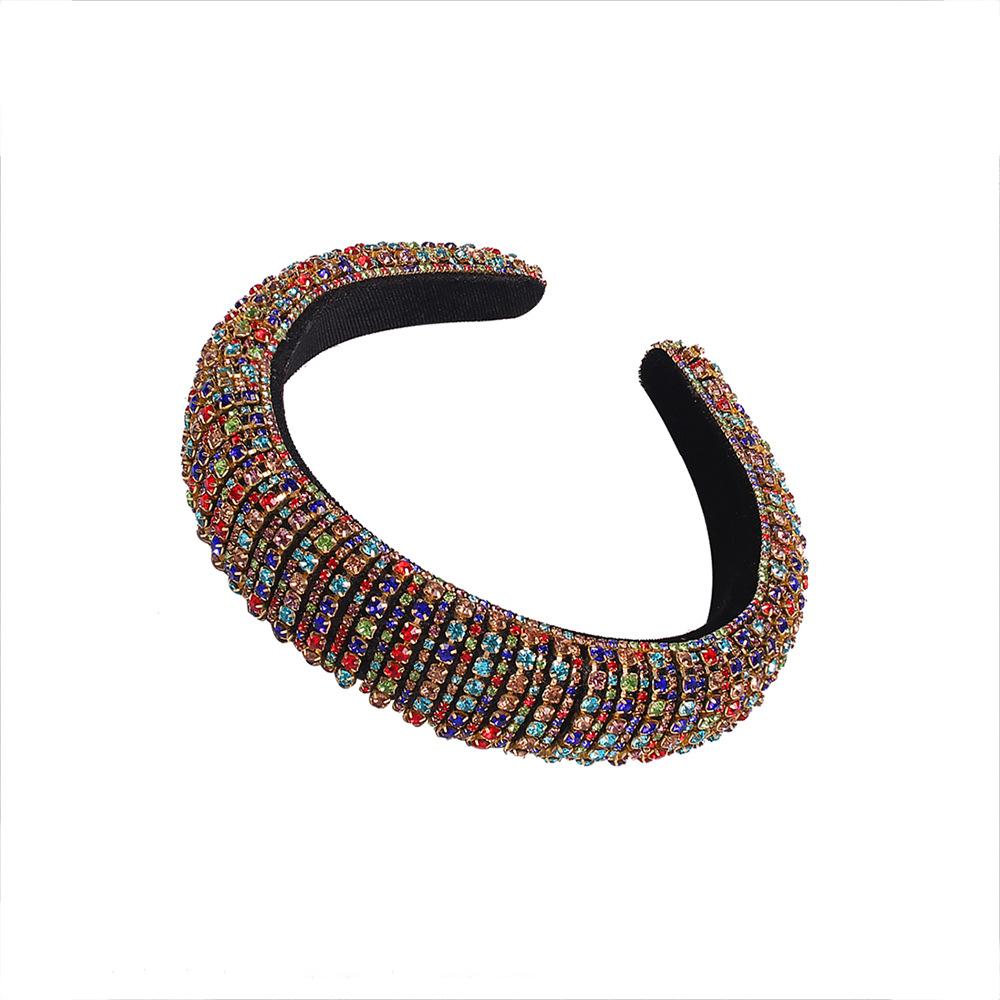 LW Casual Crystal Multicolor Headband