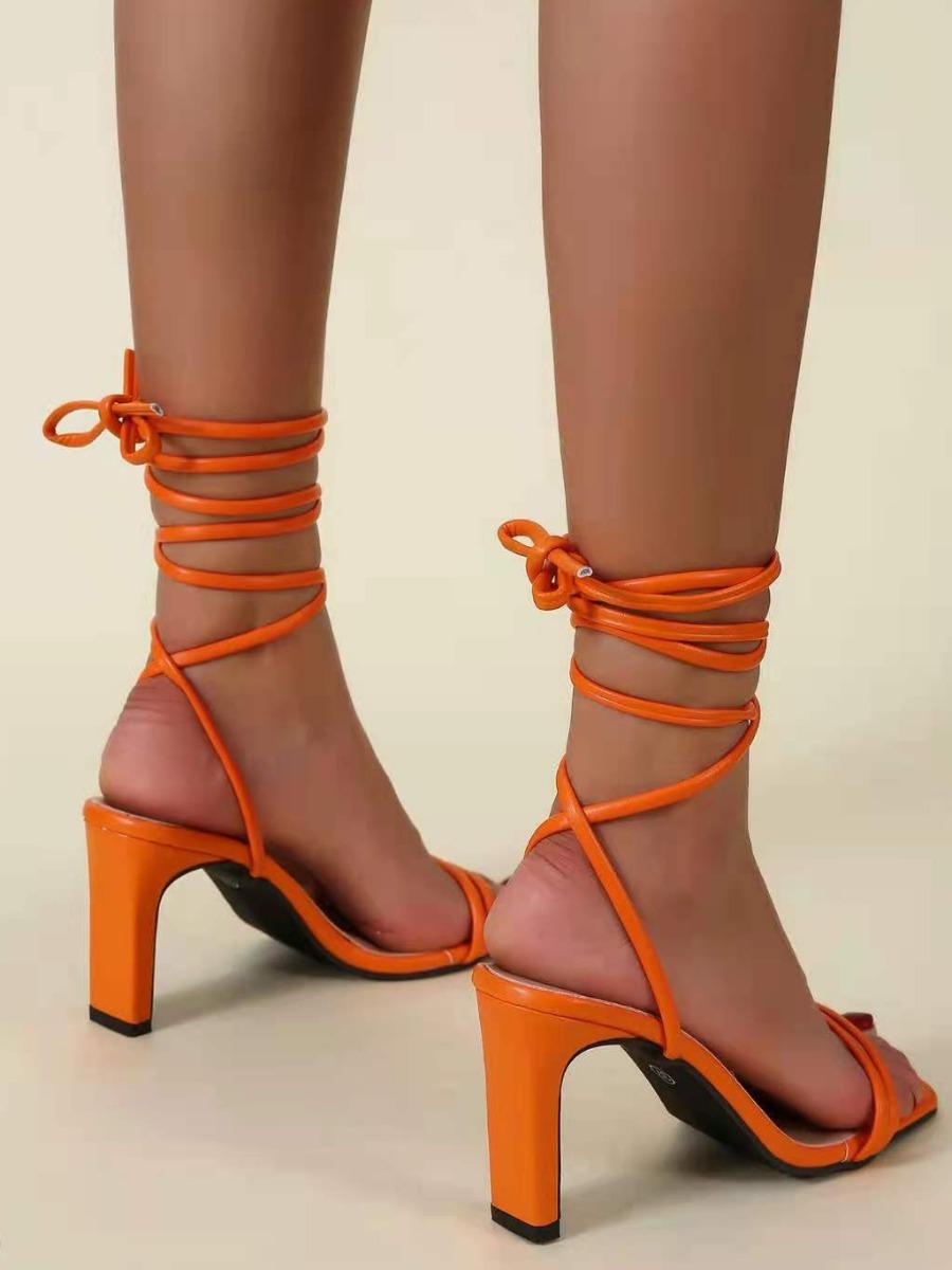 LW SXY Tie Leg High Heel Heels