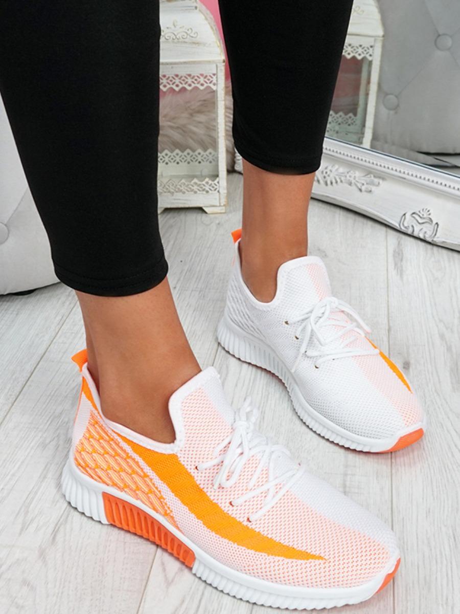 LW Mesh Front Patchwork Sneakers