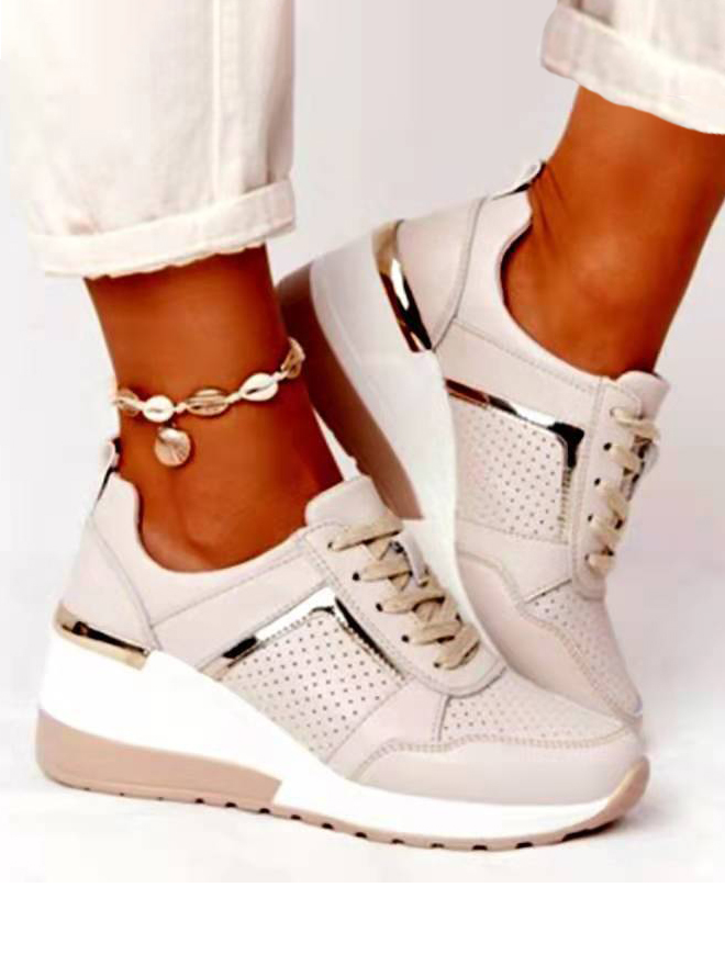 LW Mesh Front Lace-up Sneakers