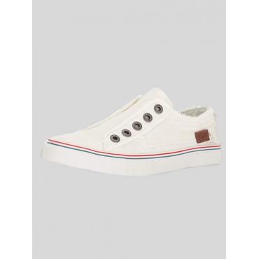 LW BASIC Striped Low Heel Flats