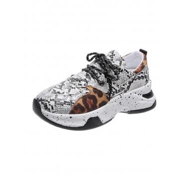 LW Cobra Print Sneakers